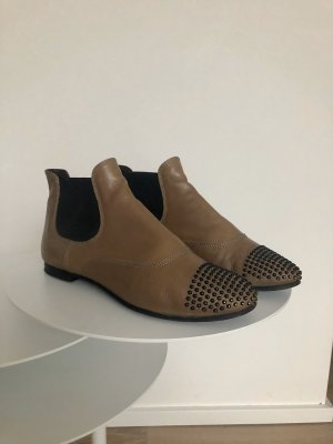 AGL Chelsea Boots light brown-camel