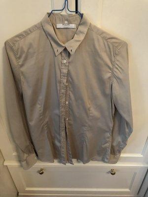 Aglini Shirt Blouse light grey-silver-colored