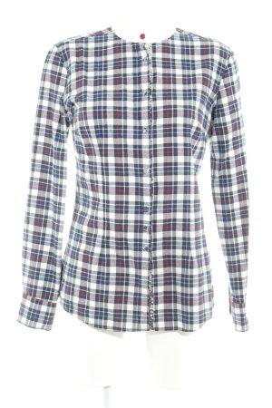 Aglini Flanellen hemd geruite print casual uitstraling