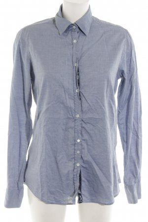 Aglini Camicia blusa blu stile casual
