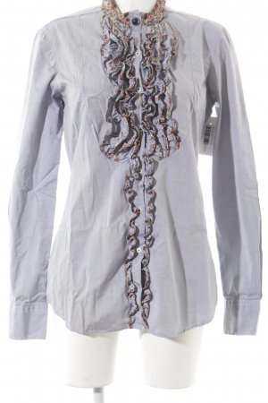 Aglini Shirt Blouse multicolored romantic style