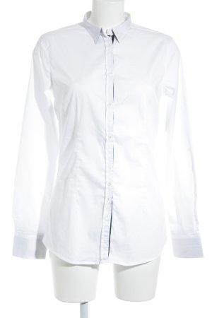 Aglini Hemd-Bluse wollweiß Casual-Look