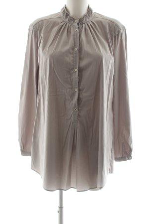 Aglini Langarm-Bluse wollweiß Elegant
