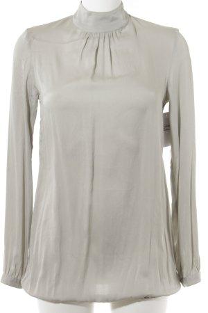 Aglini Langarm-Bluse blassblau Elegant
