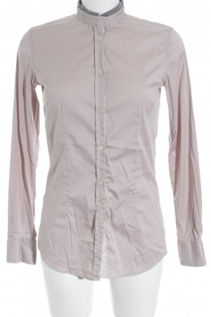 Aglini Long Sleeve Blouse light pink-dusky pink business style