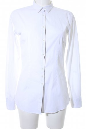 Aglini Long Sleeve Blouse white business style