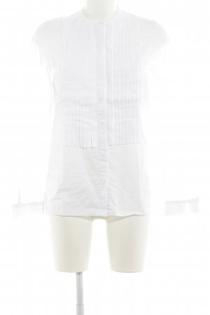 Aglini Long Sleeve Blouse white casual look