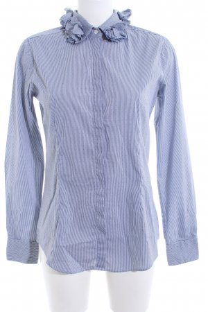 Aglini Long Sleeve Shirt blue mixed pattern business style
