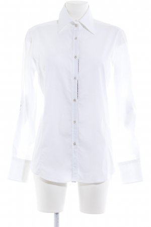 Aglini Long Sleeve Shirt white business style