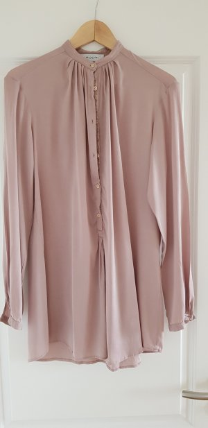Aglini Blouse en soie or rose