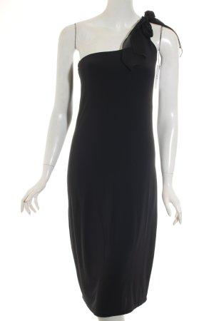 Agnes Vestido negro estilo clásico