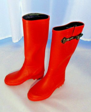 Aigle Wellies red