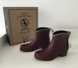 Aigle Bottines bordeau