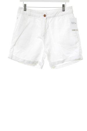 Aigle High-Waist-Shorts weiß Casual-Look