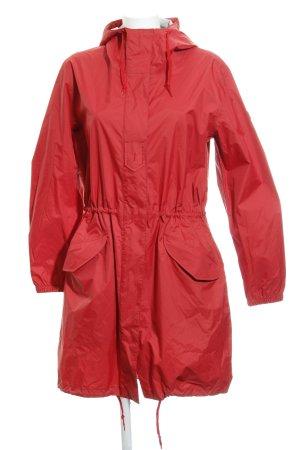 Aigle Heavy Raincoat red casual look