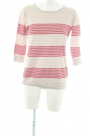 Aigle Knitted Sweater horizontal stripes casual look