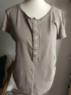 Aigle Camiseta beige-marrón claro