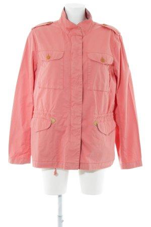 Aigle Between-Seasons Jacket pink casual look