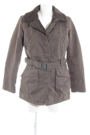 Aigle Winter Jacket brown casual look