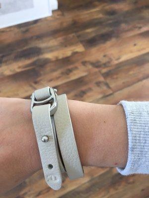 Aigner Bracelet oatmeal-silver-colored