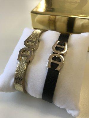 Aigner Bracelet noir-doré