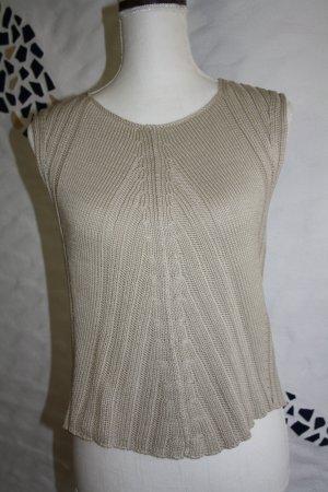 Aigner Baumwoll-Pullover / Pullunder / Gr. M/L(38/40) / beige / wie NEU !