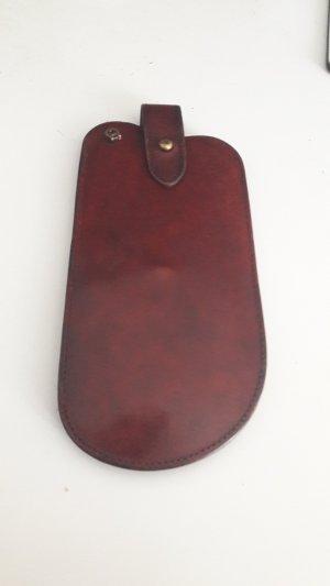 Etienne Aigner Glasses bordeaux leather