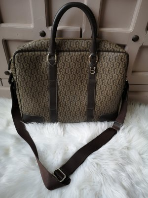 Aigner Shoulder Bag light brown-dark brown