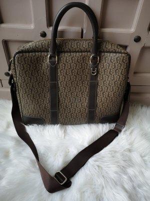 Aigner Shoulder Bag light brown-dark brown