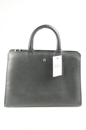 Aigner Businesstasche schwarz Business-Look