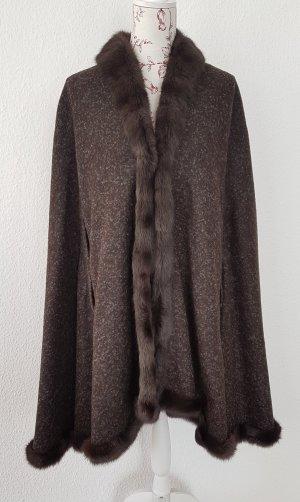 Aigner Cape brown-dark brown pelt