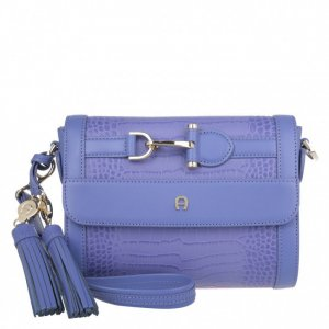 Aigner Crossbody bag mauve leather