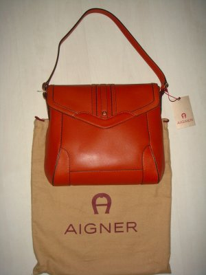 AIGNER City Bag Cognac