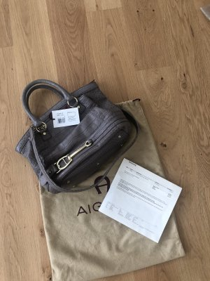Aigner Carry Bag gold-colored-grey