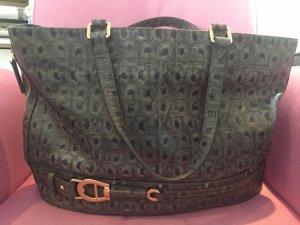Aigner Damen Handtasche - grau -Shopper -Bürotasche Neuwertig