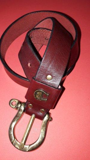 Aigner Damen Leder Gürtel 70cm x 2,8cm