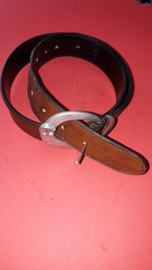 Aigner Damen Leder Gürtel 85cm x 3,4 cm