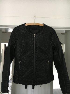 Aigner Leather Jacket black