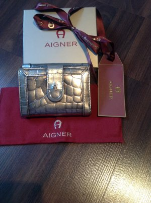 Aigner Wallet gold-colored-sand brown