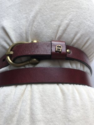 Aigner Belt bordeaux