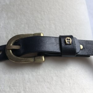 Aigner Belt dark blue