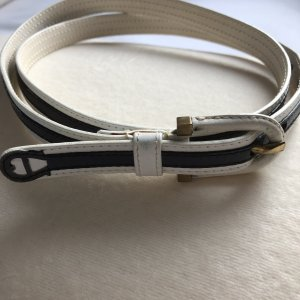 Aigner Belt white-dark blue