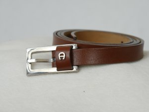 Aigner Leather Belt brown