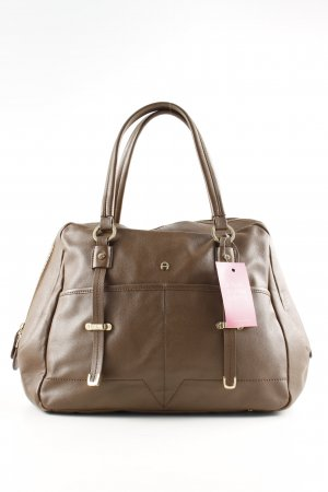 Aigner Handtasche braun Business-Look