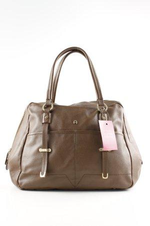 Aigner Handbag brown business style