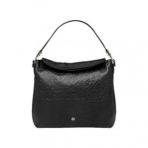 Aigner Handbag black leather