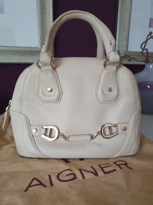 Aigner Handbag gold-colored-cream