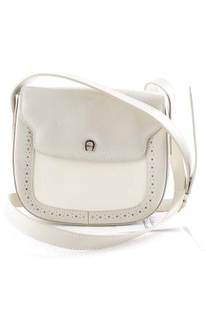 Aigner Handtasche graubraun klassischer Stil