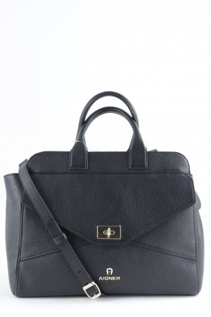 "Aigner Handtasche ""Ophelia Handbag Leather Black"" schwarz"