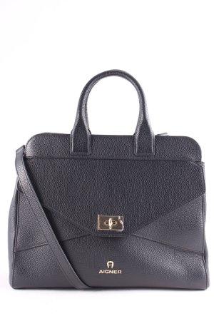 "Aigner Handtasche ""Ophelia Handbag Leather Black"" schwarz"